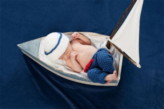 Baby in a Boat