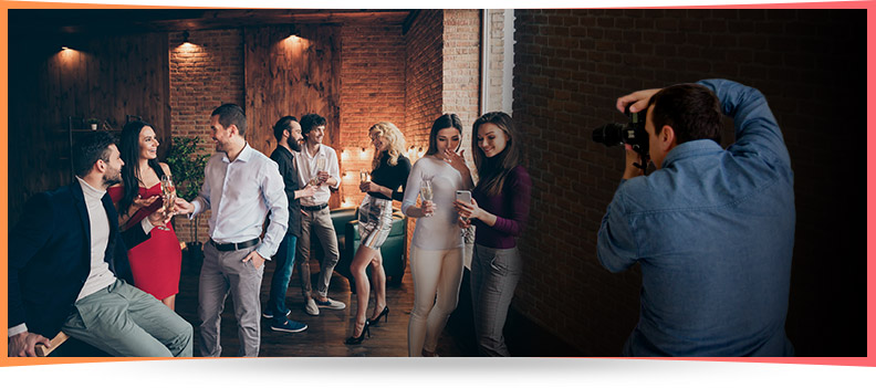 Corporate Dinner and Parties Photography Events